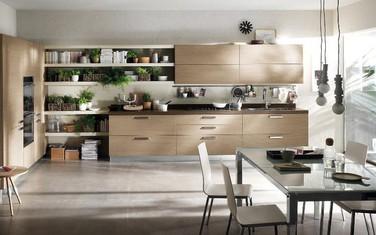 Mẫu nhà bếp đẹp khiến gia chủ vô cùng thích thú