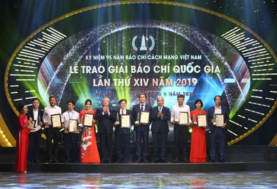 Vietnam Television  won one A and two C prizes at the 2019 National Press Awards