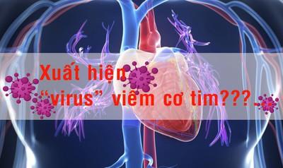 """Xuất hiện """"virus"""" viêm cơ tim???..."""