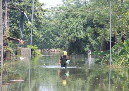 Measures for flood response in Hanoi suburbs