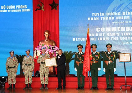 Vietnamese doctors honored for work in South Sudan