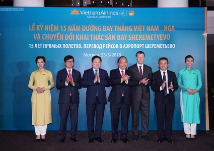PM attends event celebrating 15th anniversary of direct flight route between Vietnam and Russia
