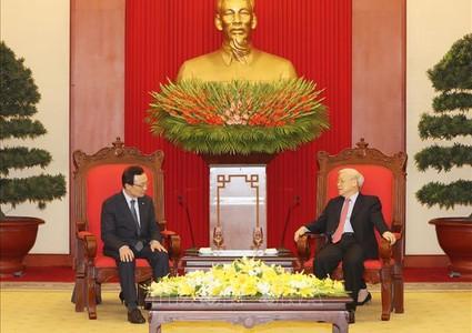 Vietnam, RoK to strengthen inter-parties cooperation