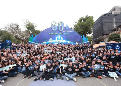 Provinces and cities in Vietnam respond to Earth Hour 2019