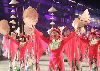 Vietnamese art troupe attends Chingay Parade 2020 in Singapore