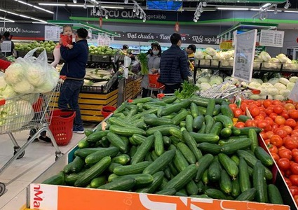 Vietnam's CPI in April down 1.54% as fuel, non-food prices drop