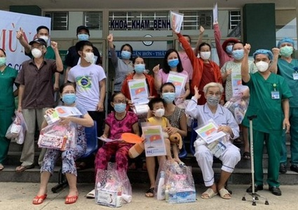 Nearly 700 COVID-19 patients in Vietnam have recovered