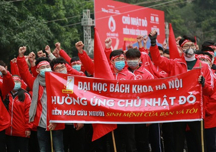Red Sunday campaign aims to collect 50,000 blood units