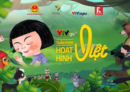 Vietnam cartoon movies week on VTVGo - 50 gifts for kids in summer vacations