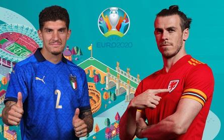 TRỰC TIẾP BÓNG ĐÁ Italia 0-0 Xứ Wales: Hiệp 1 | Bảng A UEFA EURO 2020