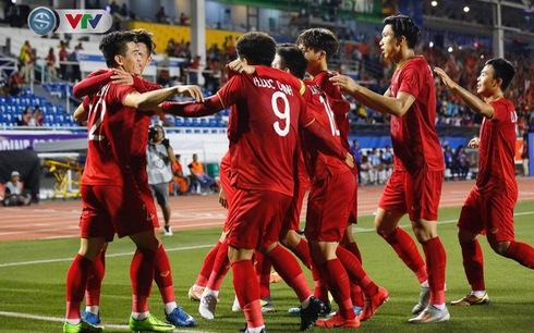 U22 Việt Nam 4-0 U22 Campuchia: Thẳng tiến chung kết SEA Games 30