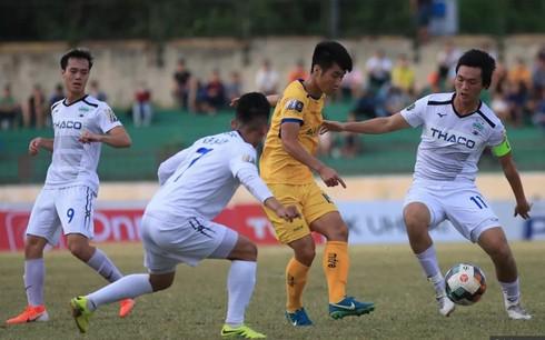 TRỰC TIẾP BÓNG ĐÁ Hoàng Anh Gia Lai 1-1 Sông Lam Nghệ An: Văn Toàn mở tỉ số, Khắc Ngọc gỡ hoà (Hiệp một)