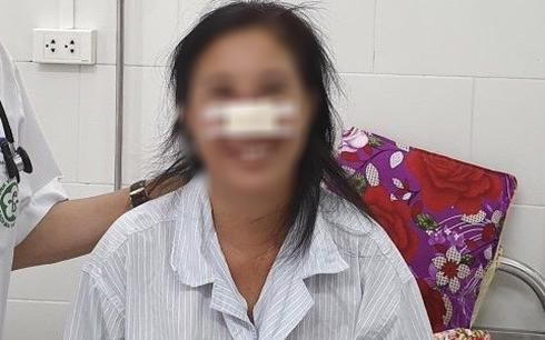 Nữ bệnh nhân bị vi khuẩn Whitmore gây hoại tử mũi được ra viện