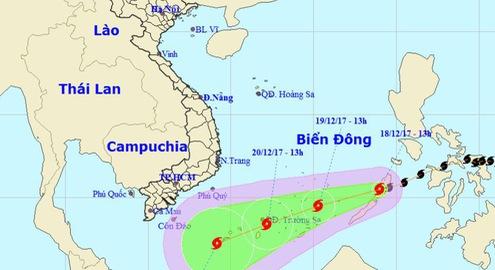 Các tỉnh thành ven biển từ Quảng Ninh đến Kiên Giang ứng phó bão số 15