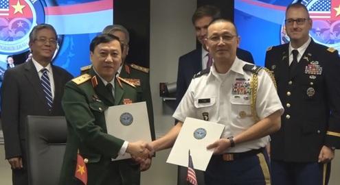 Đối thoại quốc phòng chuẩn bị cho chuyến thăm Việt Nam của Tổng thống Mỹ