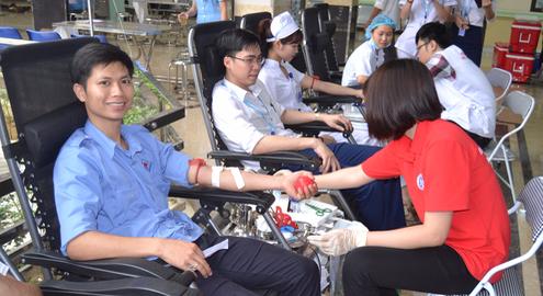 Phú Thọ: Hơn 400 đơn vị máu được hiến tặng