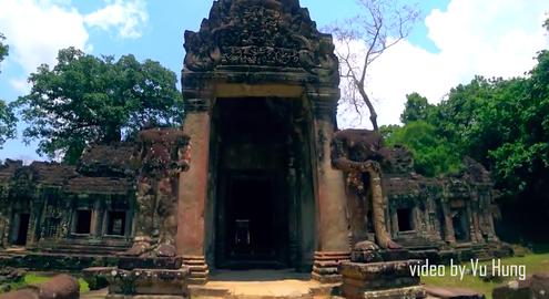 Đường tới Angkor Thom