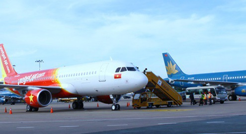 Vietjet Air và Jetstar Pacific hủy nhiều chuyến bay do ảnh hưởng bão số 3