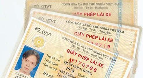 Gần 160.000 bằng lái bị tạm giữ nhưng tài xế không đến nhận