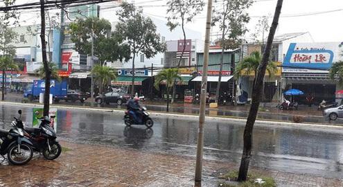 Ngày 10/4, mưa ở Trung Bộ giảm dần