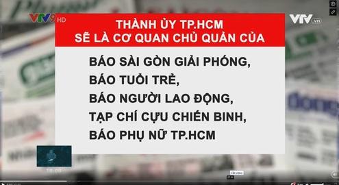TP.HCM sắp xếp từ 28 cơ quan báo chí còn 19 đơn vị