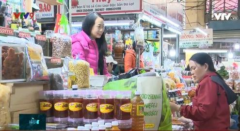 Lâm Đồng: Xây dựng các quầy hàng đặc sản Chợ Đà Lạt thành điểm đến du lịch