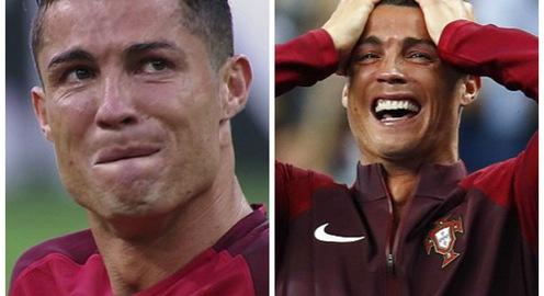 Khoảnh khắc chung kết EURO 2016: Ronaldo và hai dòng nước mắt
