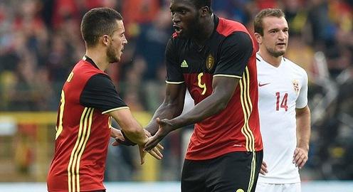 VIDEO: Dàn sao Ngoại hạng Anh tỏa sáng, Bỉ ngược dòng đánh bại Na Uy