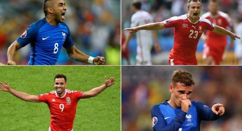 VIDEO: Chiêm ngưỡng 10 bàn thắng đẹp nhất EURO 2016 theo bình chọn của UEFA