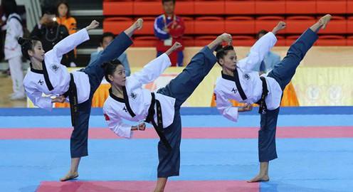 2017 – năm nhiều thành công của quyền Taekwondo Việt Nam