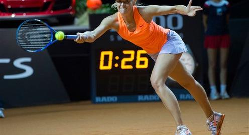 Bán kết Stuttgart mở rộng 2017: Sharapova dừng bước
