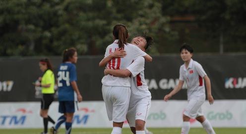 VIDEO Bàn thắng: Thắng Philippines 3-0, ĐT bóng đá nữ Việt Nam khởi đầu thuận lợi