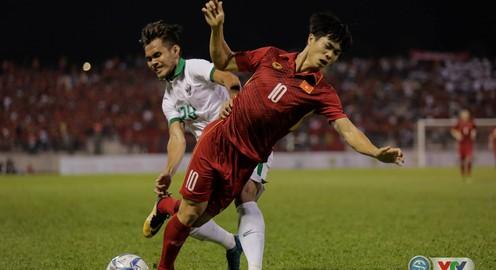 VIDEO SEA Games 29: Dứt điểm thiếu hiệu quả, U22 Việt Nam chia điểm với U22 Indonesia