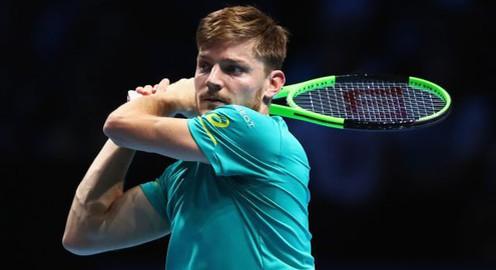 ATP Finals 2017: Thắng Dominic Thiem, David Goffin giành quyền vào bán kết