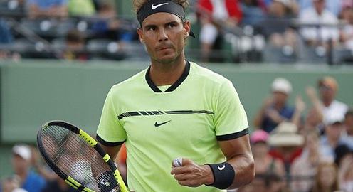 Giải quần vợt Miami mở rộng 2017: Nishikori và Nadal ra quân thắng lợi