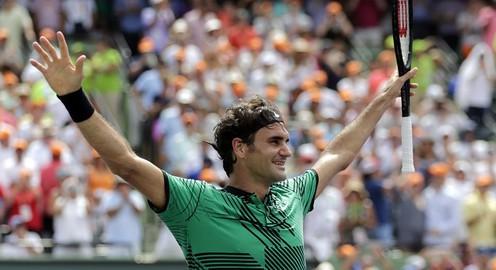 Highlights Chung kết Miami mở rộng 2017: Roger Federer 2-0 Rafael Nadal