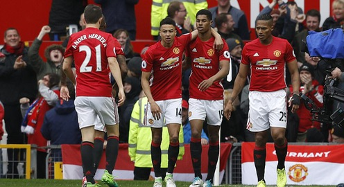 VIDEO Man Utd 2-0 Chelsea: Rashford, Herrera cùng nhau tỏa sáng