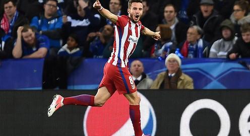Leicester City 1-1 Atletico Madrid: Thầy trò HLV Diego Simeone giành vé thuyết phục