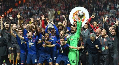 Vượt qua Ajax trong trận chung kết Europa League 2017, MU đăng quang ngôi vô địch