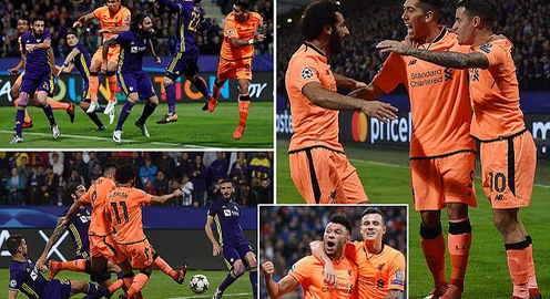 Kết quả Champions League rạng sáng 18/10: Man City 2-1 Napoli, Real hoà 1-1 Tottenham, Liverpool thắng đậm Maribor