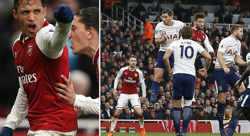 VIDEO: Tổng hợp trận đấu Arsenal 2-0 Tottenham