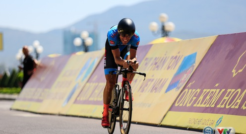Giải xe đạp quốc tế VTV Cúp Tôn Hoa Sen 2017: Desriac Loic giành chiến thắng chặng 10