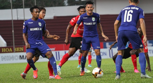 Vòng 17 giải bóng đá VĐQG 2017: CLB Hải Phòng 0-2 Becamex Bình Dương, SHB Đà Nẵng 3-0 XSKT Cần Thơ