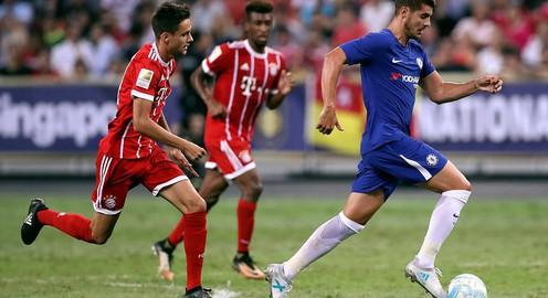 Morata ra mắt nhạt nhòa, Chelsea gục ngã trước Bayern Munich