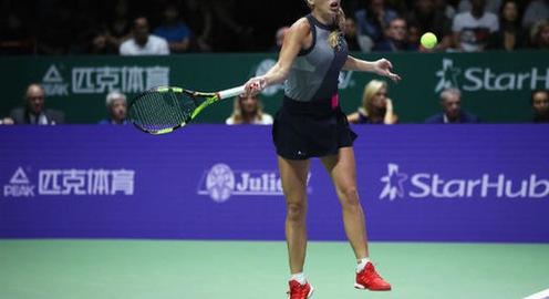 WTA Finals 2017: Vượt qua Venus Williams, Wozniacki đăng quang thuyết phục