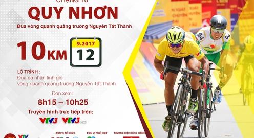 Lộ trình chặng 10 giải xe đạp quốc tế VTV Cúp Tôn Hoa Sen 2017