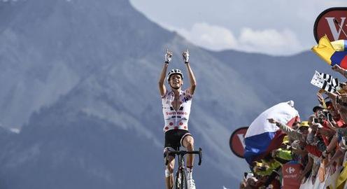 Tour de France 2017: Warren Barguil về nhất chặng 18