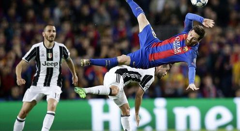 Tứ kết lượt về Champions League: Barcelona 0 - 0 Juventus: Barca dừng bước