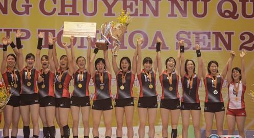 VTV Cup Tôn Hoa Sen 2017: Sinh viên Nhật Bản lên ngôi vô địch một cách thuyết phục