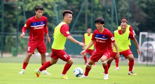 ĐT Việt Nam hứng khởi ngày hội ngộ, tích cực hướng tới trận đấu trên đất khách